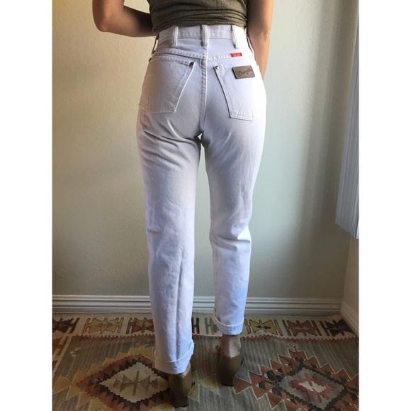 500e1b834e Wrangler Jeans | Vintage White Womens High Waist | Poshmark
